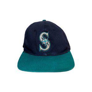 Vintage 90s Seattle Mariners Snapback Hat